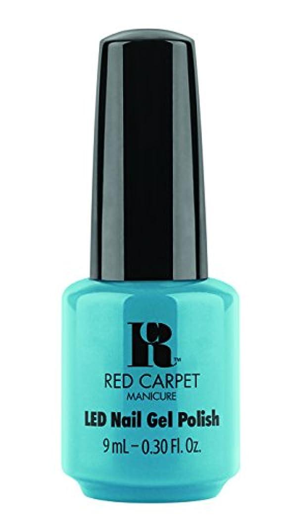 クレデンシャル通り抜けるベットRed Carpet Manicure - LED Nail Gel Polish - Sandal Scandal - 0.3oz/9ml