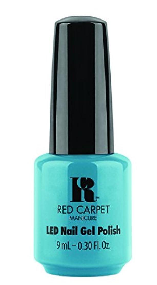 戻す批判フラッシュのように素早くRed Carpet Manicure - LED Nail Gel Polish - Sandal Scandal - 0.3oz/9ml