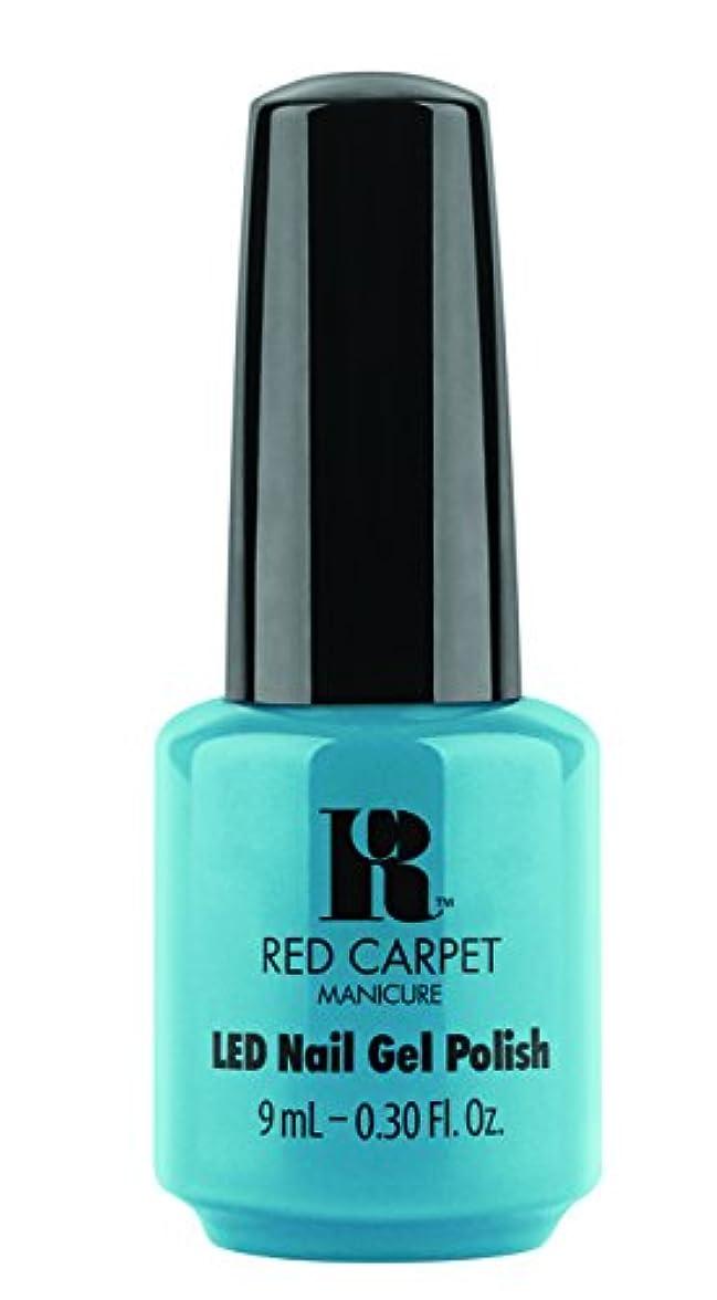 失望拮抗する彼はRed Carpet Manicure - LED Nail Gel Polish - Sandal Scandal - 0.3oz/9ml