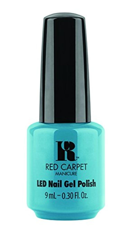 反毒束ねるくぼみRed Carpet Manicure - LED Nail Gel Polish - Sandal Scandal - 0.3oz/9ml
