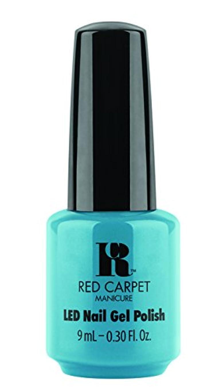 縞模様の最終的にライムRed Carpet Manicure - LED Nail Gel Polish - Sandal Scandal - 0.3oz/9ml