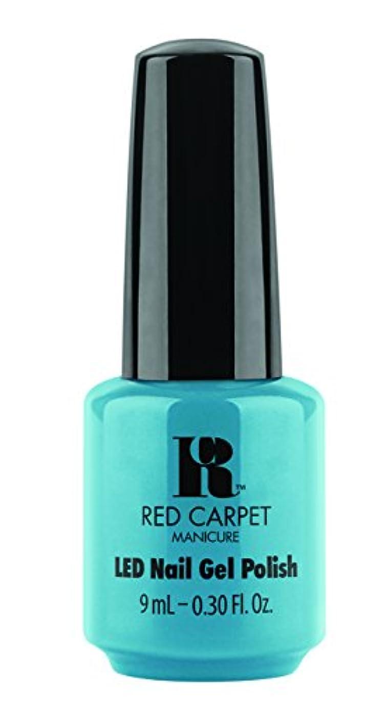 調停するスペード哲学者Red Carpet Manicure - LED Nail Gel Polish - Sandal Scandal - 0.3oz/9ml