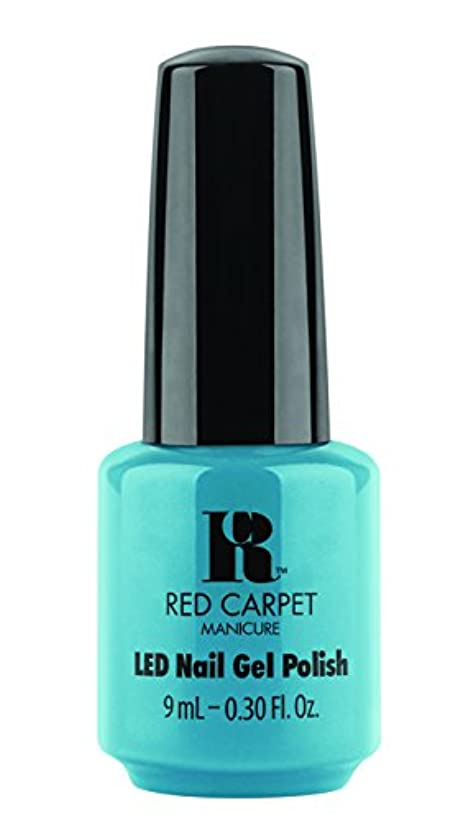病院言語疲労Red Carpet Manicure - LED Nail Gel Polish - Sandal Scandal - 0.3oz/9ml