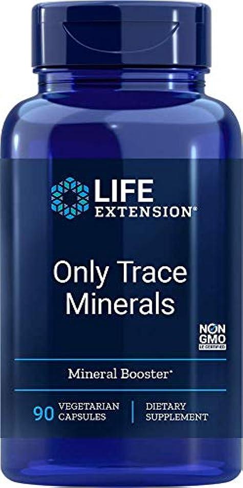 概して溶かす子犬海外直送肘 Only Trace Minerals, 90 vcaps