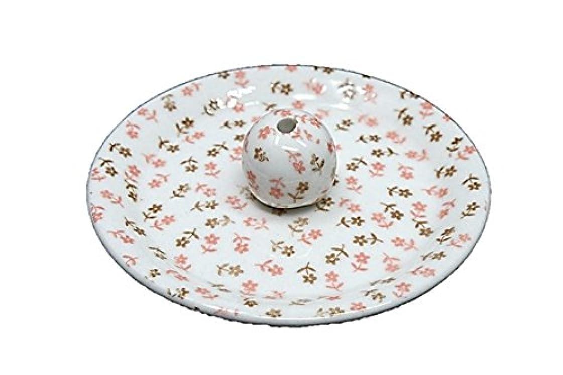 動詞分析するおんどり9-19 ミニフラワー 9cm香皿 お香立て お香たて 陶器 日本製 製造?直売品