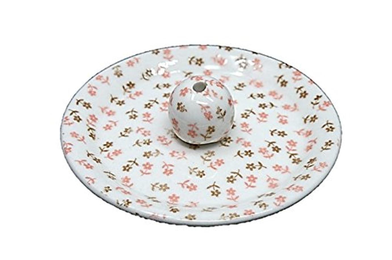 ブルジョン服を洗うスペード9-19 ミニフラワー 9cm香皿 お香立て お香たて 陶器 日本製 製造?直売品