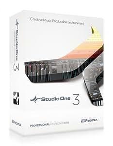 PreSonus プリソナス / Studio One 3 Professional ダウンロード版 DAWソフト