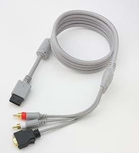 【Amazon.co.jp限定】 ECOパッケージ版 CYBER・D端子ケーブル (Wii / WiiU 用)