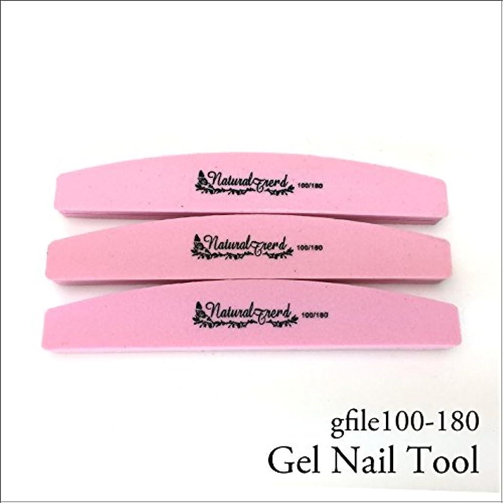 月曜日拘束測定可能NaturalTrend ジェルネイル 爪やすり バッファー ファイル 100-180 3本セット
