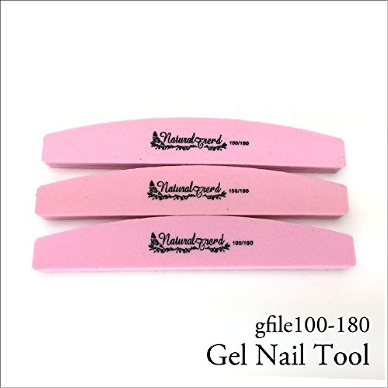 石鹸凍るに賛成NaturalTrend ジェルネイル 爪やすり バッファー ファイル 100-180 3本セット