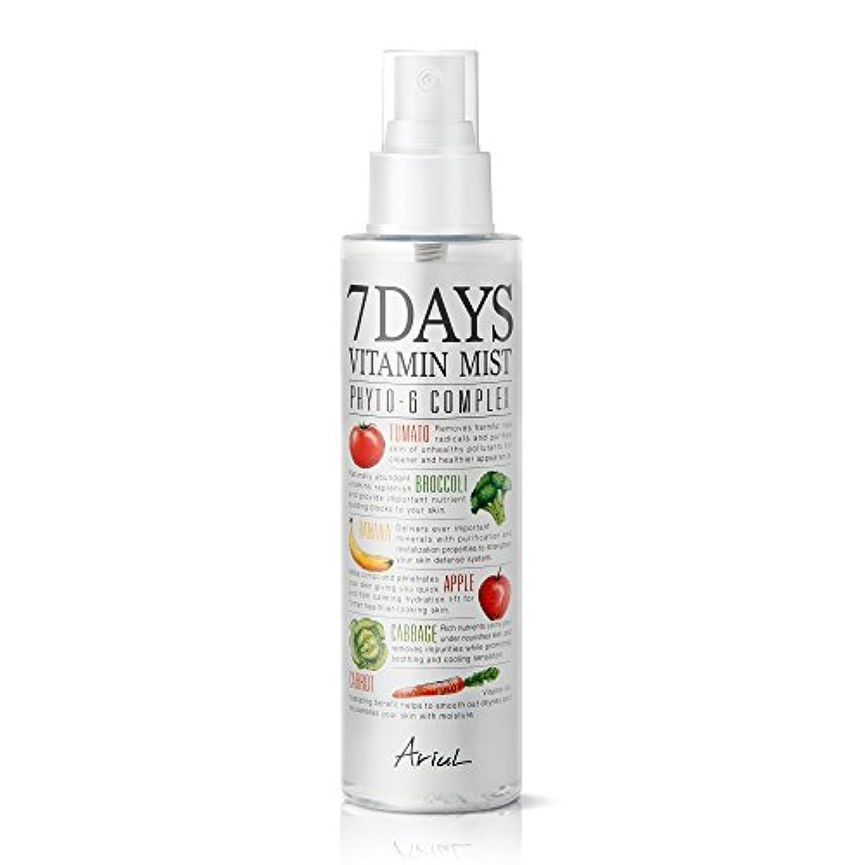 バラバラにする黒スラックアリアル 7デイズビタミンミスト150ml / Ariul Natural Facial Face Mist 7 Days Vitamin Mist [並行輸入品]