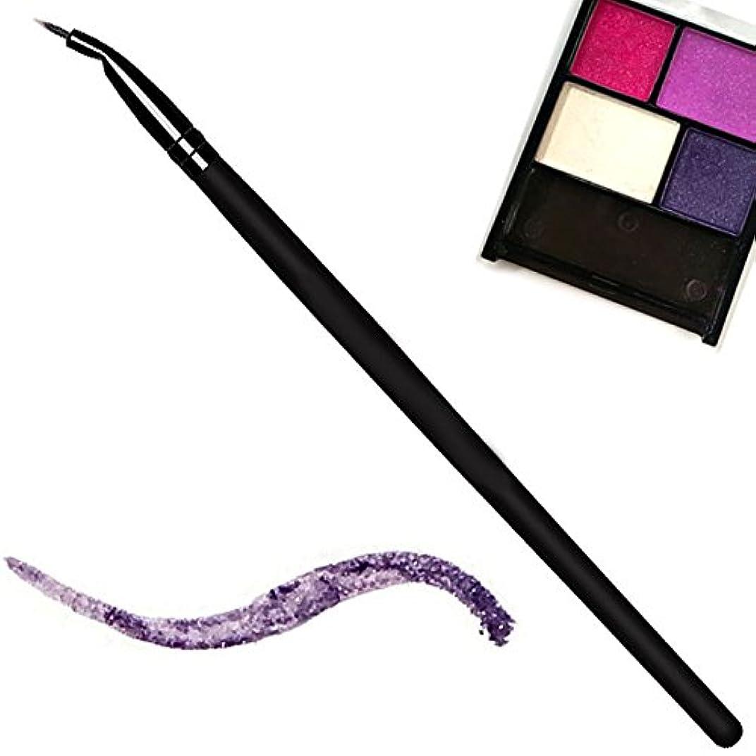 する寄託テナントQueen REIアイシャドウがアイライナーになるブラシ ジェルライナー アイシャドウ アイライナー 化粧ブラシ ブラシ メイクブラシ メイク道具 化粧筆