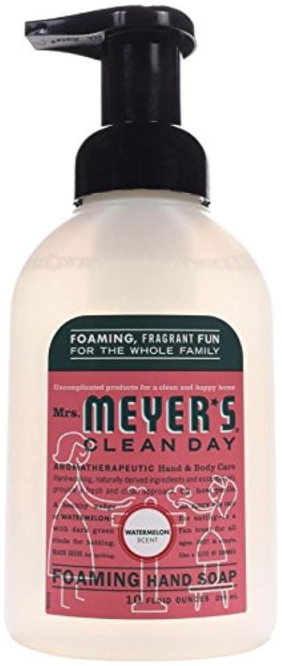 テザー争いフォークFoaming Hand Soap - Watermelon - Case of 6 - 10 fl oz by Mrs. Meyer's