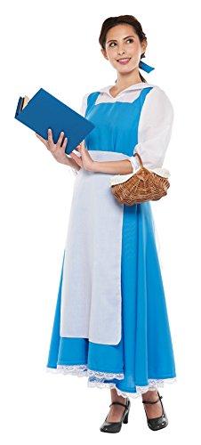 ディズニー 美女と野獣 ベル コスチューム レディース 対応身長155-165cm 95818