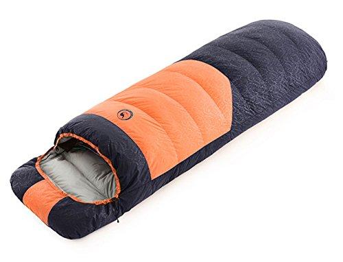 寝袋 封筒型 ダウン -30℃対応 撥水 コンパクト キャンプ/防災/車中泊 シュラフ