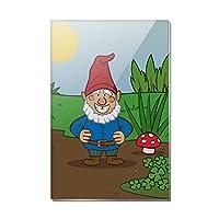 ガーデンGnome Toadstools 長方形アクリル冷蔵庫冷蔵庫マグネット