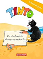 TINTO 1 und 2. Blaue und gruene Ausgabe1./2. Schuljahr. Schreiblehrgang in Vereinfachter Ausgangsschrift