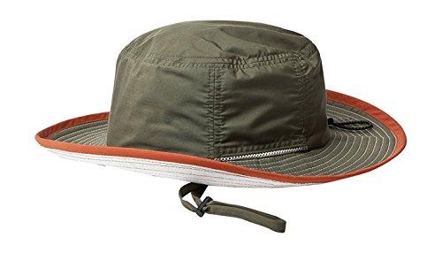 ベーシックエンチ(撥水)Teflon Coolever Hat ハット アウトドア 登山 ゴルフ 散歩 釣り キャンプ フェス 通学 帽子 フリーサイズ カーキ