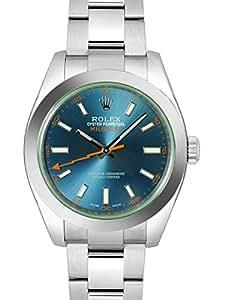 [ロレックス] ROLEX 腕時計 ミルガウス Zブルー 116400GV メンズ 新品 [並行輸入品]