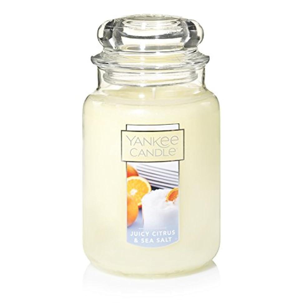 Yankee Candle Juicy Citrus & Sea Salt Jar Candle, Large