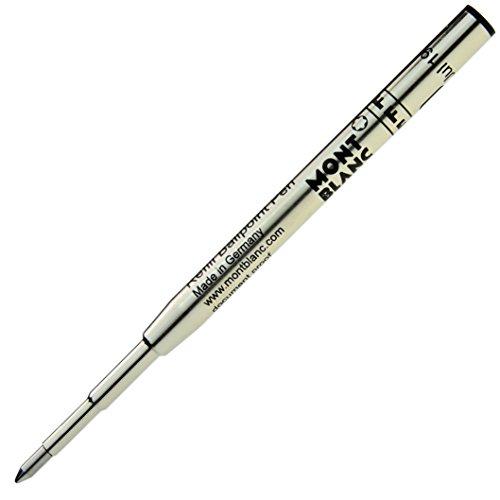 MONTBLANC【モンブラン】 ボールペン用替芯 (リフィール) ミステリーブラック F(細字)