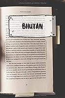 Bhutan: Liniertes Reisetagebuch Notizbuch oder Reise Notizheft liniert - Reisen Journal fuer Maenner und Frauen mit Linien