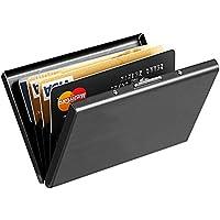 MaxGear RFIDブロックウォレット クレジットカードホルダー クレジットカード財布 本革ウォレット