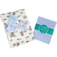 My Baby Toddler Bedding Set for Boys – Includesフリースの毛布スーパーソフトコットンシートセットfor幼児用サイズベッド用OneサイズFits All (複数のデザイン&カラー使用可能) 121315-B