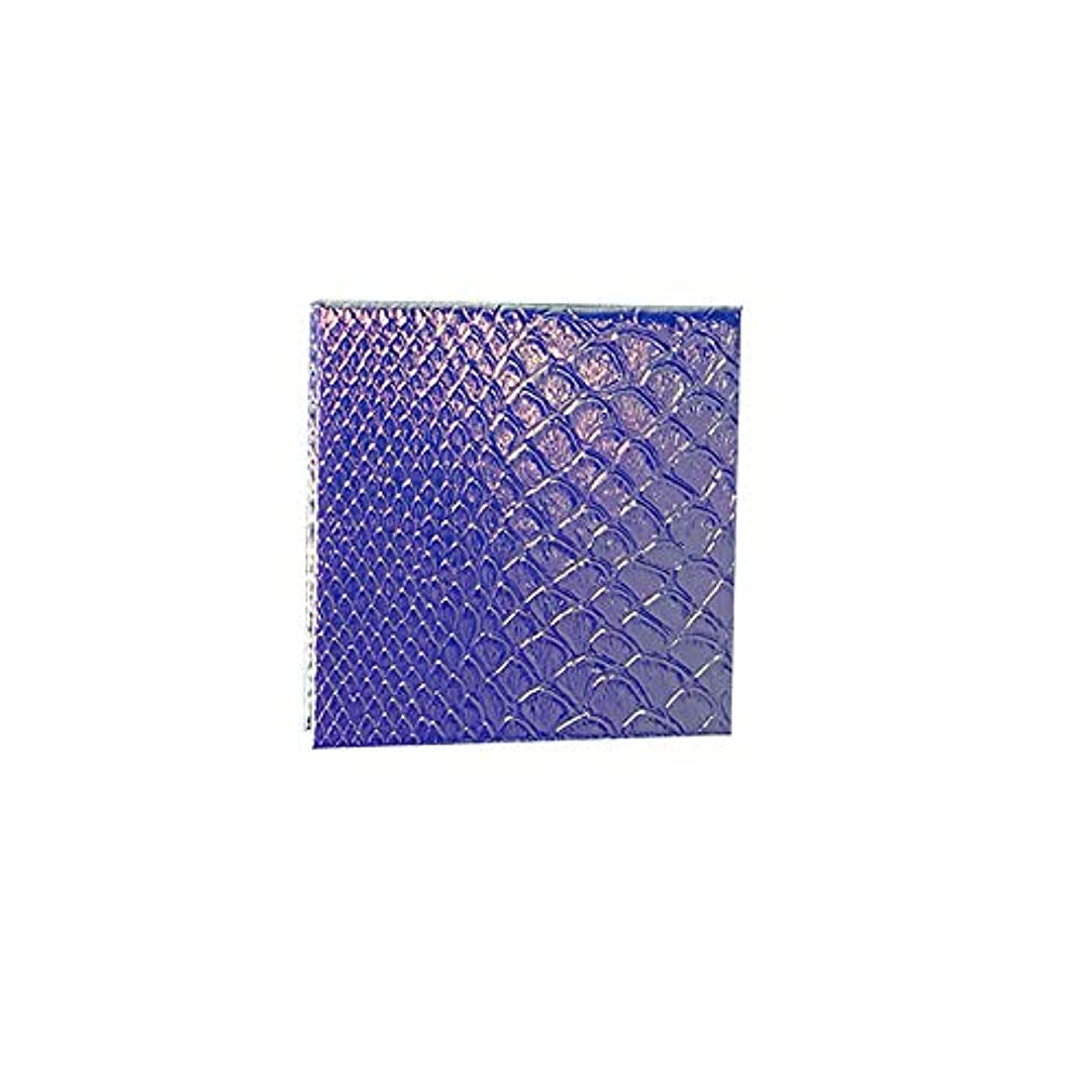 つま先塩靄空の化粧アイシャドーパレット磁気空パレット接着剤空のパレット金属ステッカー空のパレットキット(S)