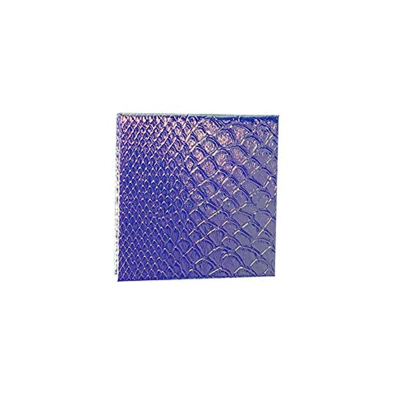 波逆も空の化粧アイシャドーパレット磁気空パレット接着剤空のパレット金属ステッカー空のパレットキット(S)