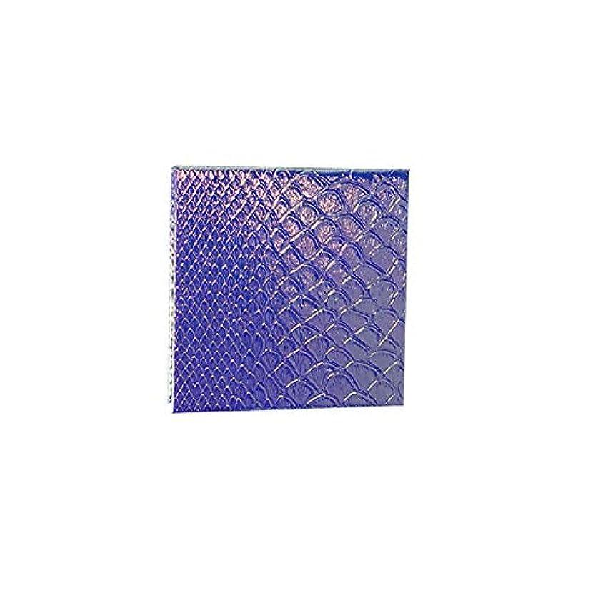 演劇前にインサート空の化粧アイシャドーパレット磁気空パレット接着剤空のパレット金属ステッカー空のパレットキット(S)