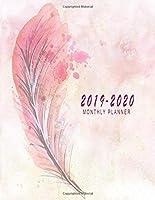 2019-2020マンスリープランナー:2019-2020マンスリーカレンダー| 24ヶ月カレンダー2019-2020カレンダー2019-2020学術プランナー|月間カレンダー.第1巻(2019-2020プランナー月間カレンダー)