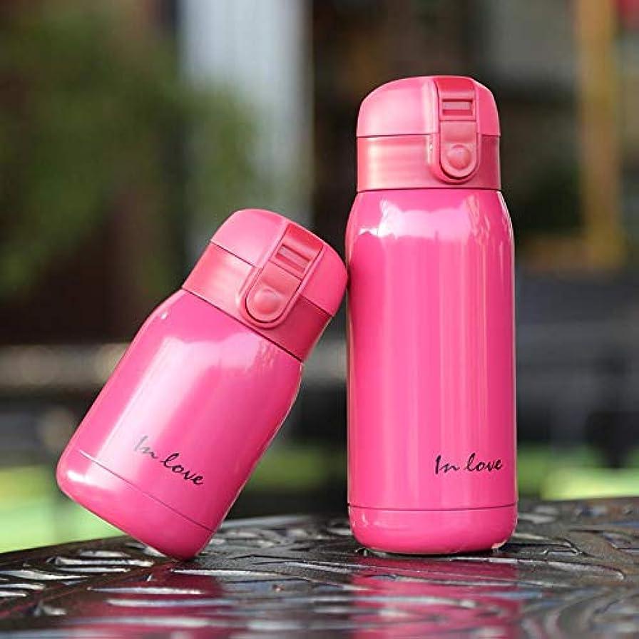 したい改修する蓄積するCOLORFUH スポーツ用品カップステンレス鋼真空フラスコ真空カップコーヒーカップ腹カップ魔法瓶360ミリリットル  赤