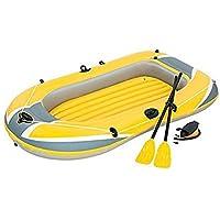 今春入荷!ゴムボート 2人 黄 Raft Set 61083