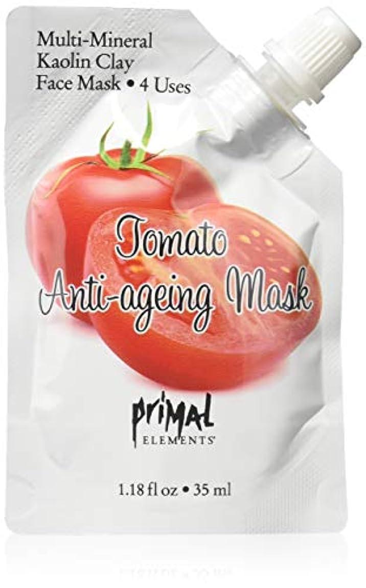 プライモールエレメンツ カオリンクレイ フェイスマスク/トマト 35ml(約4回分) カオリンクレイ配合のミネラル豊富なフェイスパック