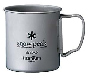 スノーピーク(snow peak) チタンシングルマグ 600 MG-044R