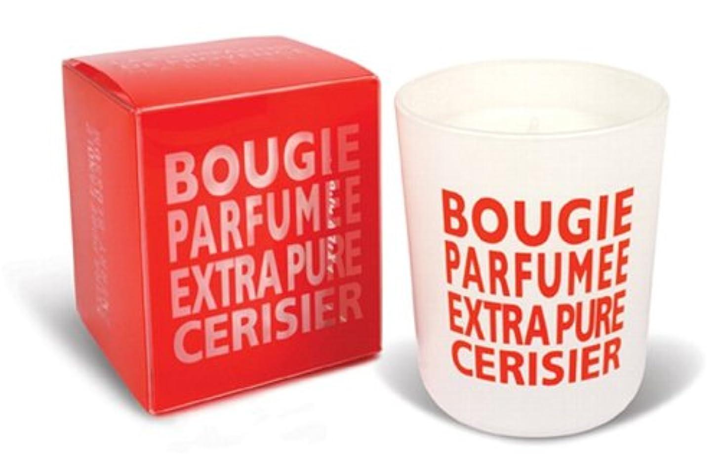 フォークバイナリ換気Provence グラスキャンドル チェリーブロッサム 140g