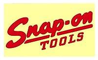 スナップオン 【国内正規品】 Snap-on デザインだけ残る転写ステッカー レッド(サイズ:6cm×16.3cm)S-005