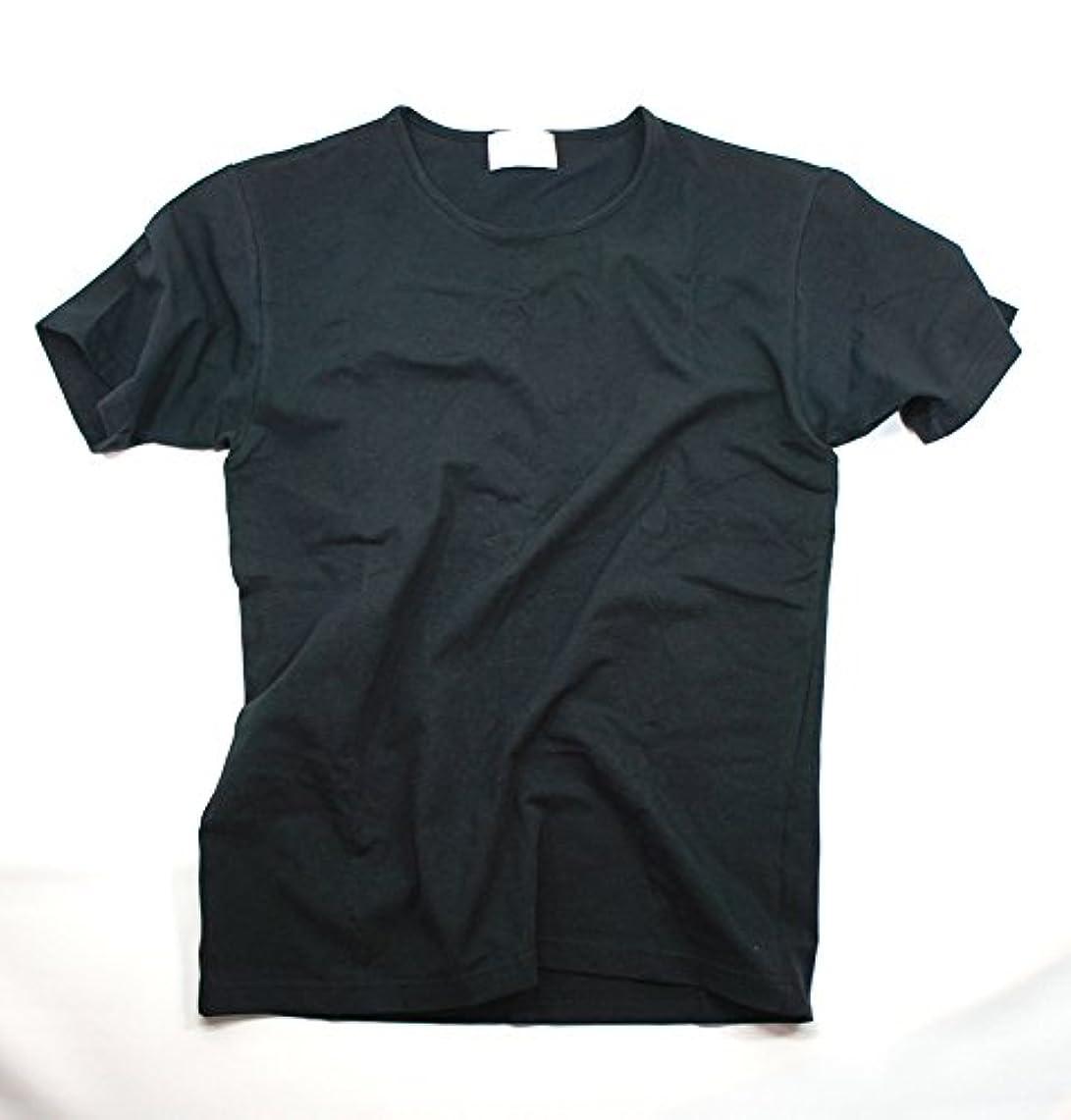 コンベンション野なではごきげんようブリーズブロンズ メンズTシャツ 丸首 ブラック LLサイズ