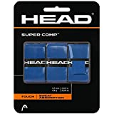 HEAD Super Comp Racquet Overgrip - Tennis Racket Grip Tape, Unisex, 285088-WHT, White