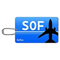 ソフィアブルガリア(SOF)空港コード IDカード荷物タグ