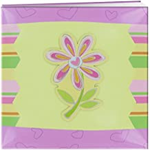12x12 3-D Applique Striped Scrapbook, Flower
