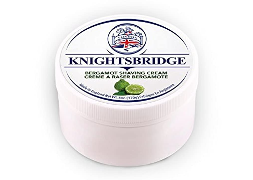 慎重解決する前売Knightsbridge - Bergamot Shaving Cream 170g [並行輸入品]