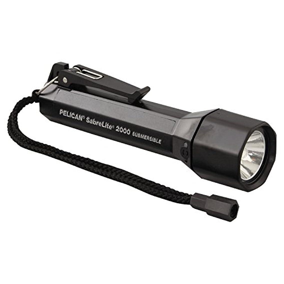 四分円損なう日曜日Pelican 2000C-BLACK Super SabreLite Flashlights, 3 C, 33 lm, Black by Pelican