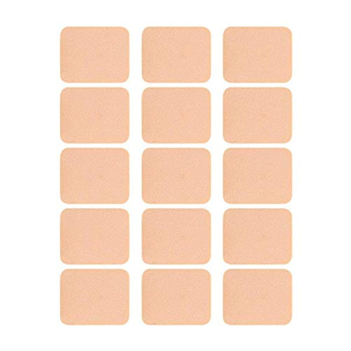 波ゴミ箱肯定的15個入 化粧道具エアパフエアクッションパフ クリーム 乾湿兼用 スポンジパフセット フェイシャル