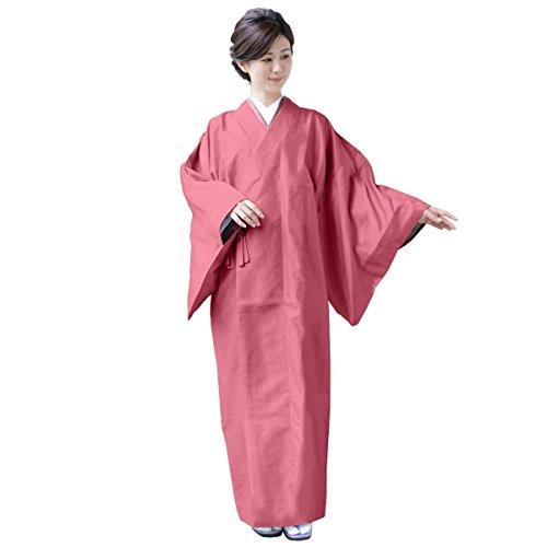 [キョウエツ] 雨コート 着物レインコート 和装 レディース (M-1, 桃)