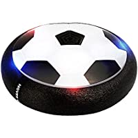 tengyao Kids Air電源Soccer Hover Ball with Wonderful LEDライトサイズ4男の子女の子スポーツ子供おもちゃFootball屋内または屋外の