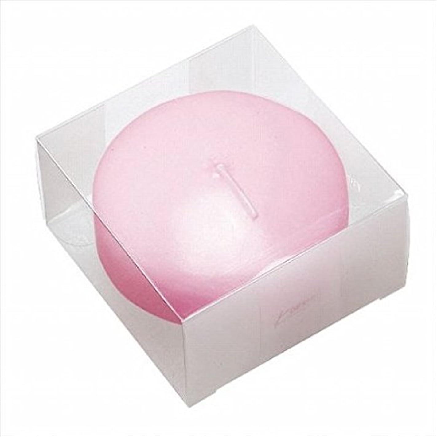 に沿って許可無限大kameyama candle(カメヤマキャンドル) プール80(箱入り) 「 ピンク 」 キャンドル 80x80x45mm (A7069060)