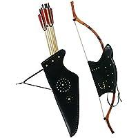 Tongtu Outdoor アーチェリー 矢筒 矢印バッグ 弓袋 コンパウンドボウバッグ ケースキャリーバッグ 弓道具 ウエストベルト ホルダー バッグ 耐久性 リカーブボウ/伝統弓を適用