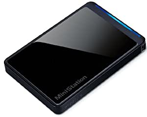 BUFFALO ターボPC EX2 USB2.0 ポータブルHDD 1TB ブラック HD-PCT1TU2-BKC